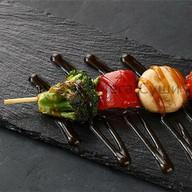 Шашлычок овощной Фото