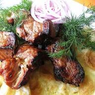 Шашлык из мяса свинины Фото