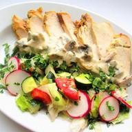 Филе цыпленка в соусе Фото