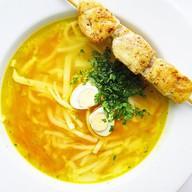 Суп лапша куриная Фото