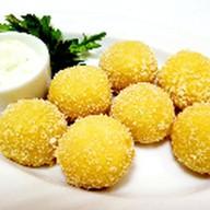Наггетсы с сыром и беконом Фото