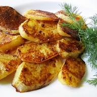 Картофель на гриле Фото