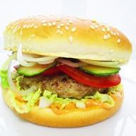 Классический бургер Фото