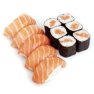 Мини сет с лососем Фото