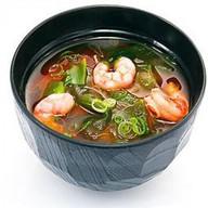 Мисо суп с креветками Фото