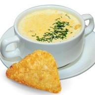 Сырный суп-пюре Фото