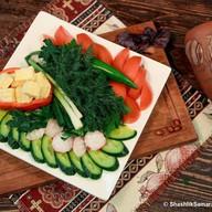 Овощная корзина Армения Фото