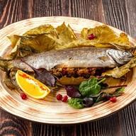 Калмахи, фаршированная грецким орехом Фото