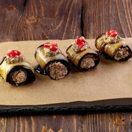 Баклажаны с орехами Фото