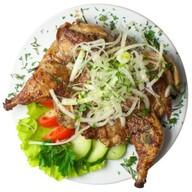 Цыплёнок на решётке Фото