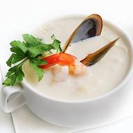 Крем-суп из морепродуктов Фото