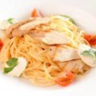 Спагетти альфредо Фото