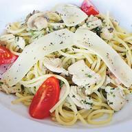 Спагетти ди полло Фото