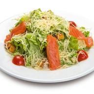 Цезарь из семги салат Фото
