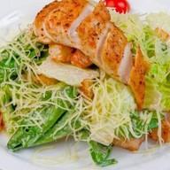 Цезарь из курицы салат Фото