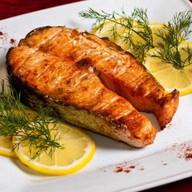 Шашлык стейк лосося Фото