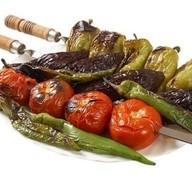 Овощной шашлык ассорти Фото