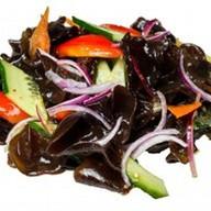 Салат из черного гриба Фото