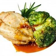 Куриная грудка в соевом соусе Фото