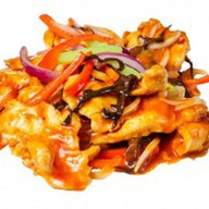 Цыпленок по-сычуаньски Фото