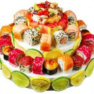 Суши-торт малый Фото