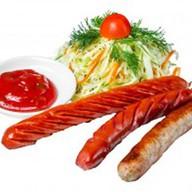 Баварские колбаски Фото