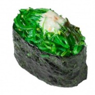 Нигири водоросли чука Фото
