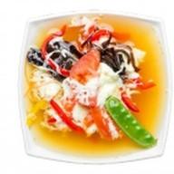 Овощной суп с яйцом Фото