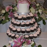 Набор капкейков на свадьбу Фото