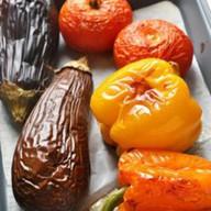 Запечённые овощи Фото