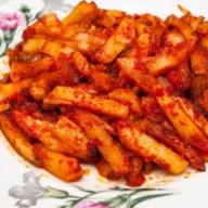 Картошечка с томатами и луком Фото
