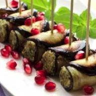 Баклажаны по-грузински с орехами Фото