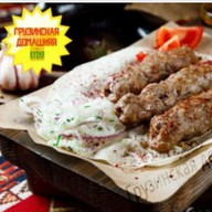 Люля-кебаб из свинины по-грузински Фото