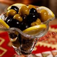 Гигантские оливки ассорти Фото