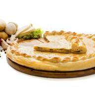 Пирог осетинский с картофелем и грибами Фото