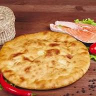 Пирог по-осетински с семгой Фото