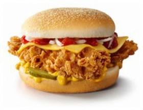 Чизбургер с луком - Фото