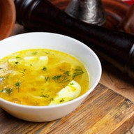 Куриный суп с домашней лапшой Фото