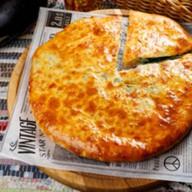 Пирог 5 трав с сыром сулугуни Фото