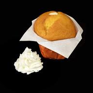 Маффин сливочный с ванильной начинкой Фото