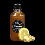 Лимонно-имбирный сок к чаю Фото