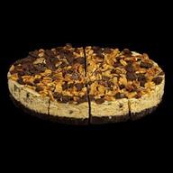 Чизкейк карамельный с арахисом Фото
