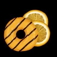 Апельсиновый пончик Фото