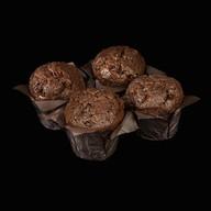 Шоколадные маффины шоковой заморозки Фото