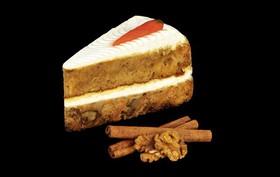 Морковное пирожное с кремом - Фото