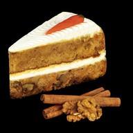 Морковное пирожное с кремом Фото
