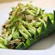 Телятина с авокадо Фото