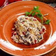 Салат из телятины с баклажанами Фото