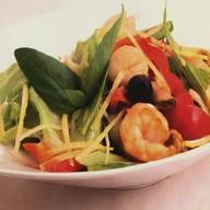 Средиземноморский салат Фото