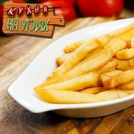 Картофель фри с кетчупом Фото